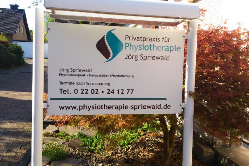 Privatpraxis für Physiotherapie Jörg Spriewald | Steinenkamp 9 | 51469 Bergisch Gladbach